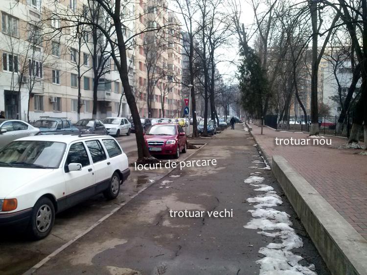 București - amenajari stradele 3 in 1