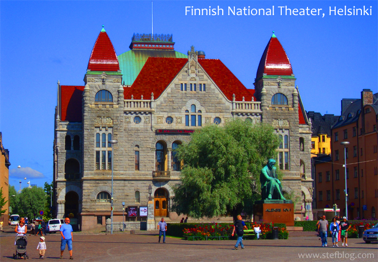 Finnish-National-Theater-Helsinki-Finland