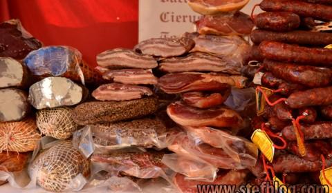 O gama variată de mezeluri iberice