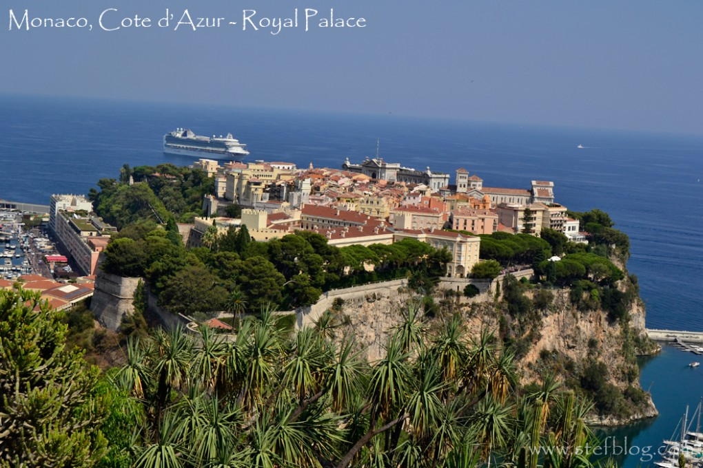 Monaco-Cote-d'Azur-Royal-Palace-view
