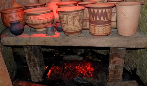 Oale în cupotr - Atelier de olărit iberic
