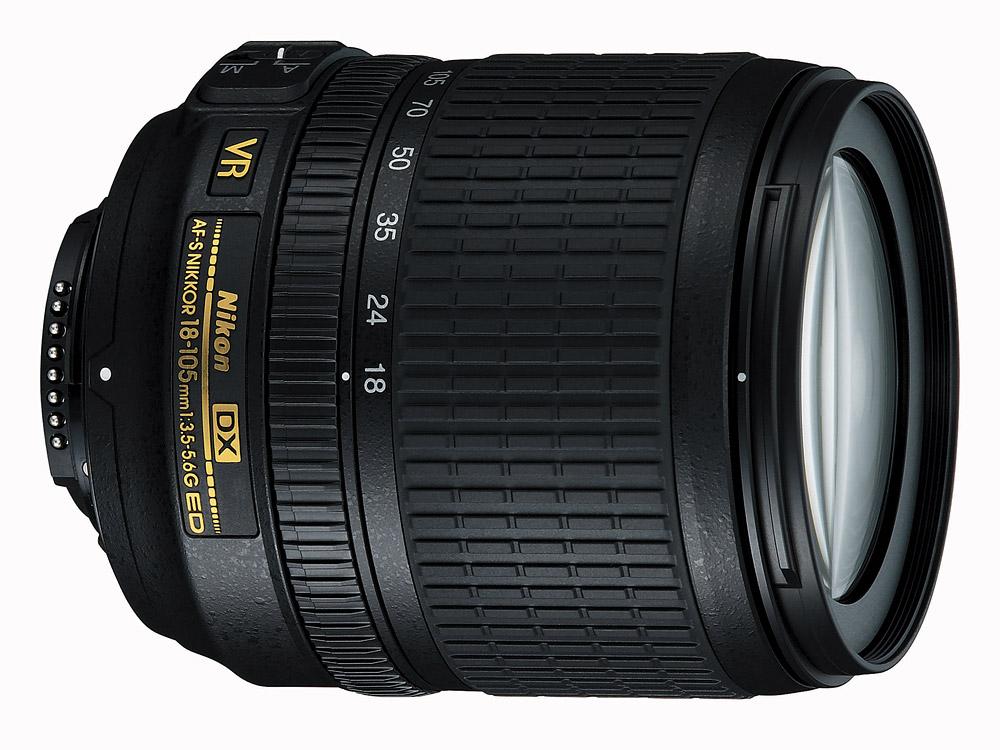 Obiectiv Nikon 18-105mm f-3.5-5.6G ED VR AF-S DX