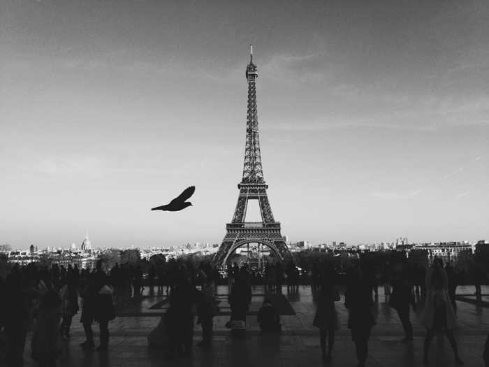 Paris - Black and White