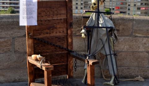 Scaun de tortura din Spania