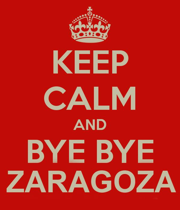 Bye, Bye Zaragoza