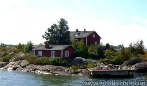 Casă de pe insula Suomenlinna