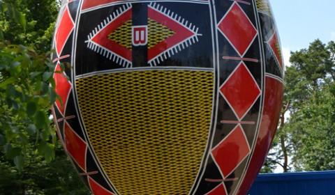 Cel mai mare ou traditional din lume - Suceava