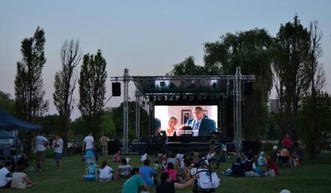 Cinema în aer liber - Parc Titan București