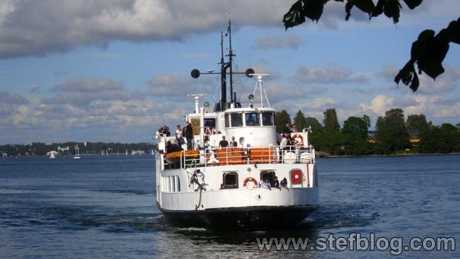 Ferry-boat line Helsinki-Suomenlinna