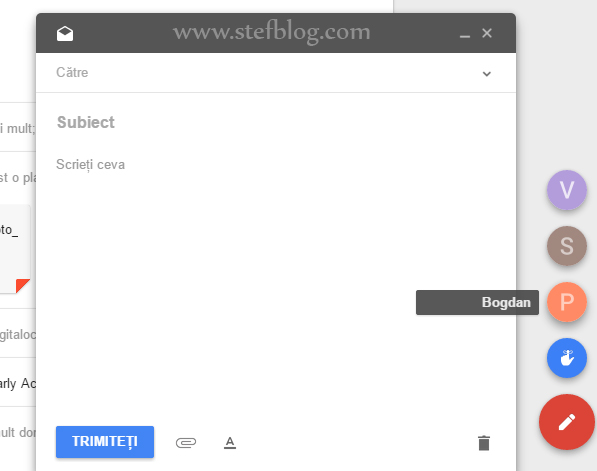 Google Inbox - Email nou