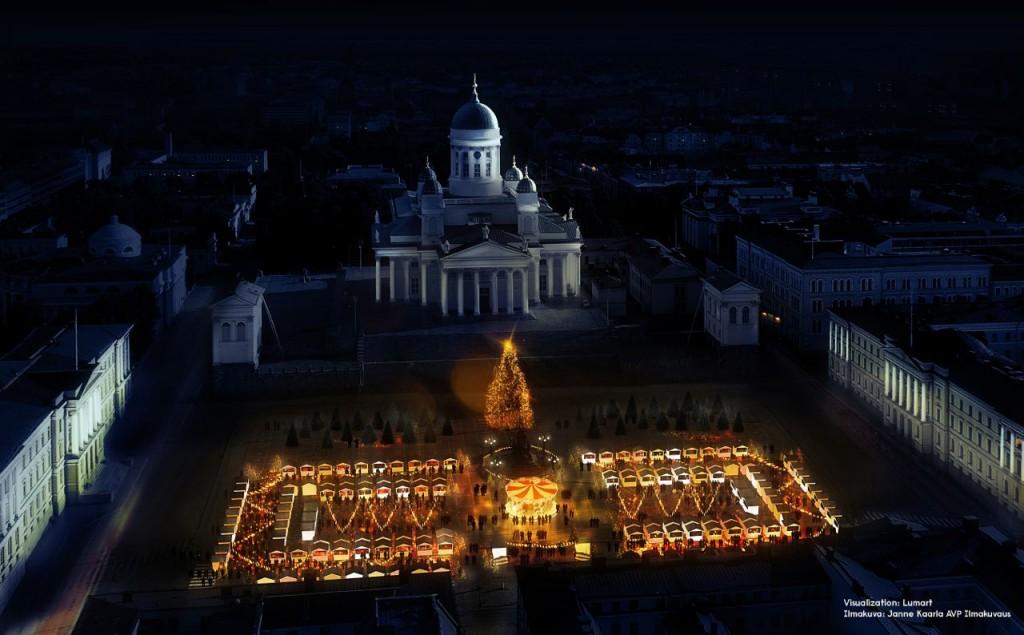 Târg de Crăciun la Helsinki
