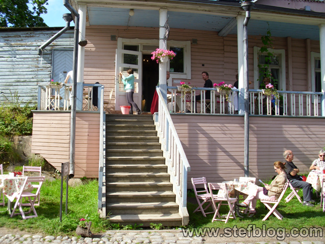 Local în stil rustic finlandez - Suomenlinna