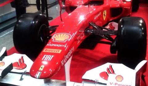 Monopostul de Formula 1 a lui Fernando Alonso