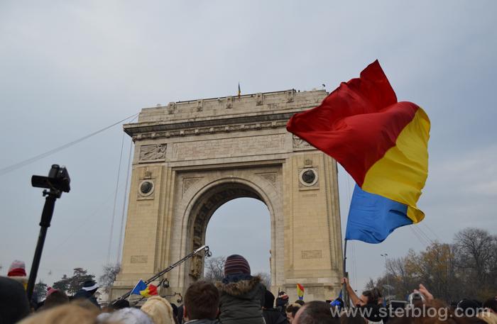 Parada de la Arcul de Triumf - 1 Decembrie