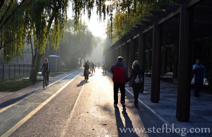 Plimbare de toamna prin Parcul IOR