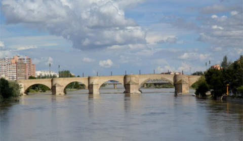 Pod peste fluviul Ebro - Zaragoza