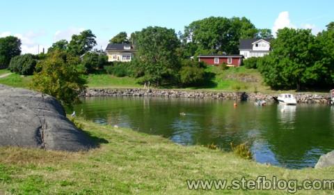 Priveliște de pe Suomenlinna