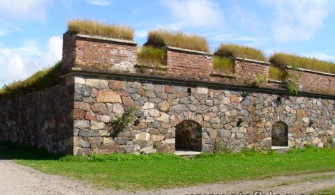 Un zid al fortăreței Suomenlinna