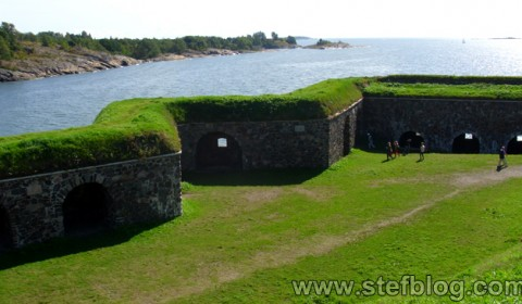 Ziduri Castelul Finlandei - Suomenlinna