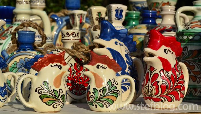 Zilelel Bucurestiului - Vase din lut